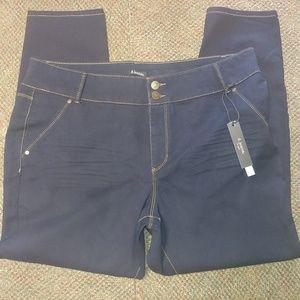 D jeans NWT skinny stretch jeans size 22W